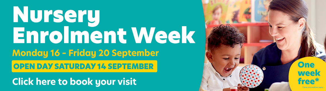 Book a visit at our Enrolment Week - Monday 16 September - Friday 20 September or at our open day on Saturday 14th September