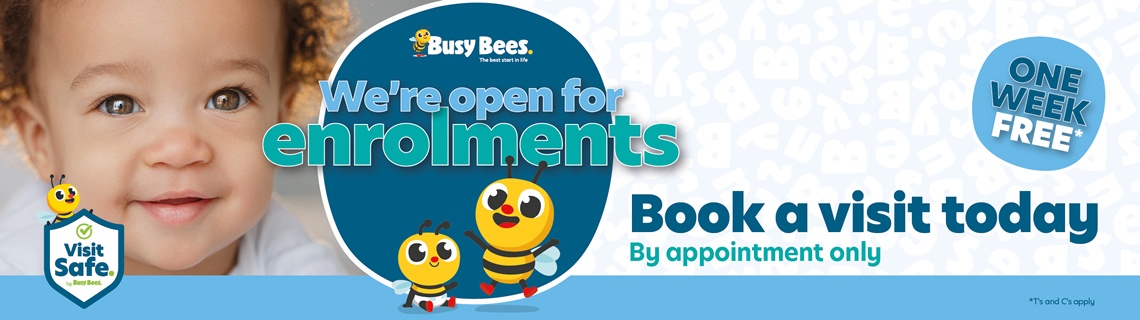 Busy Bees Enrolment Event