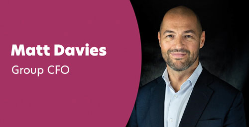 Matt Davies - Group Chief Financial Officer