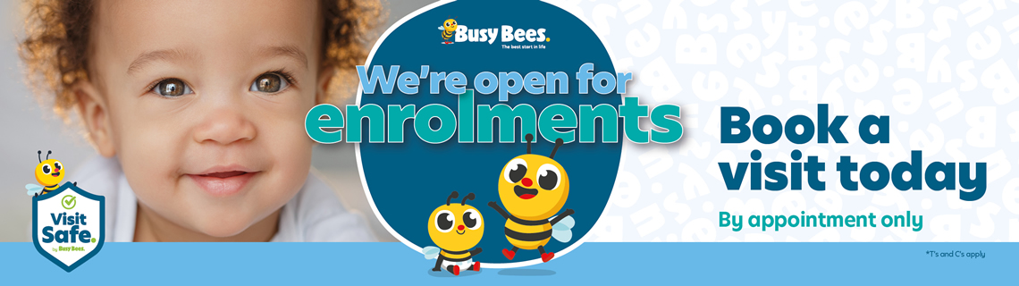 We are still open for enrolments